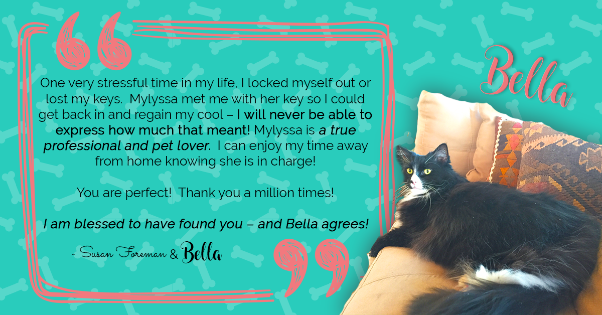 Susan and Bella say thanks!